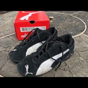 Puma Sneakers Black/White Size 8